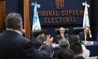 òltima reunion de fiscales de partidos pol'ticos y magistrados del Tribunal Supremo Electoral.  foto por Carlos Hern‡ndez Ovalle 14/03/2019