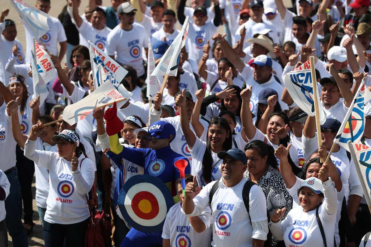 UCN, el partido que intentó llevar a la presidencia a Mario Estrada, aún batalla por no desaparecer