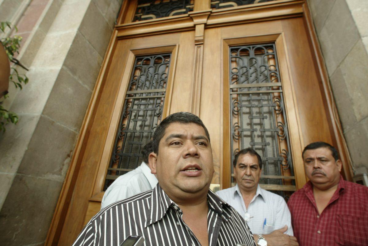 Luis Gómez, capturado por el caso Transurbano, es trasladado a Mariscal Zavala