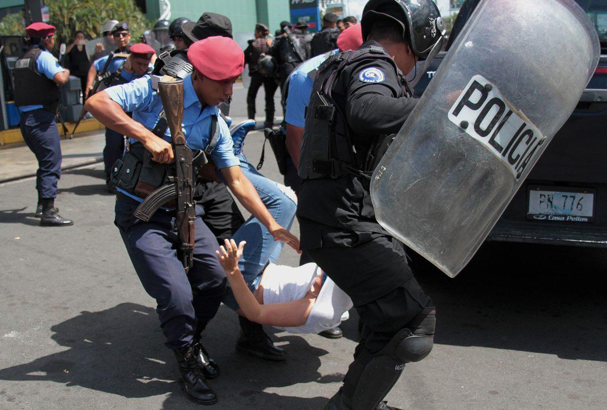 """Estados Unidos """"no descarta"""" ahora la opción militar en Nicaragua"""