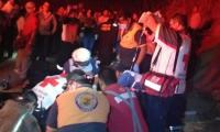 El percance dejó como saldo 24 muertos y 30 heridos. (Foto Prensa Libre: EFE)