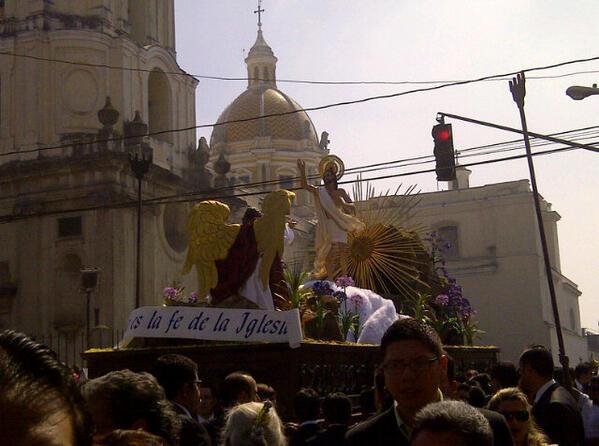 Esto es lo que se sabe del cambio de recorrido de la procesión del Resucitado de La Merced
