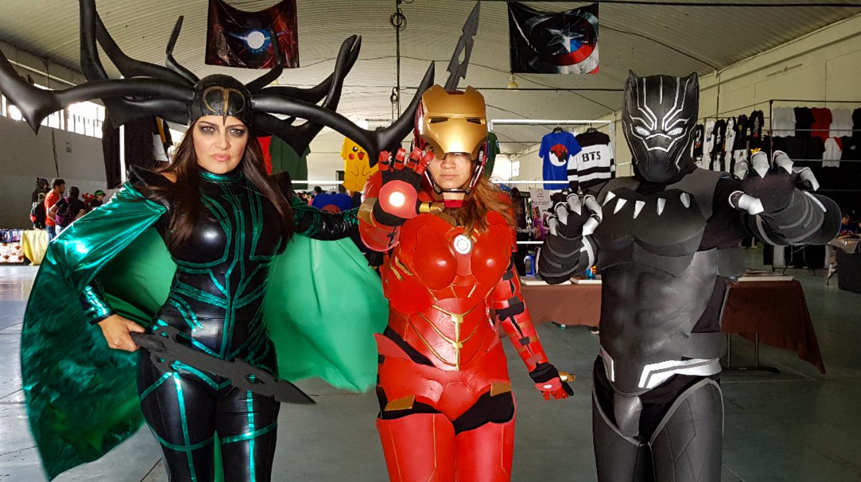 Muchos guatemaltecos recurren al cosplay para manifestar su afición por los personajes de Marvel. (Foto Prensa Libre: Cortesía Édgar López)