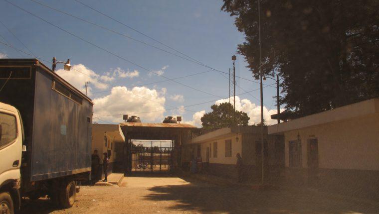 La cárcel Pavoncito es la última del complejo que está en Fraijanes. (Foto Prensa Libre: Cortesía)