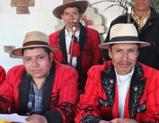 Autoridades Indígenas de Cotzal, Quiché, consideran que se rompió el diálogo sobre mega proyectos. (Foto Prensa Libre: Héctor Cordero).