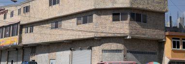 La sede policial en la zona 11 de Huhuetenango no ha pagado alquiler durante 17 meses. (Foto Prensa Libre: Mike Castillo)