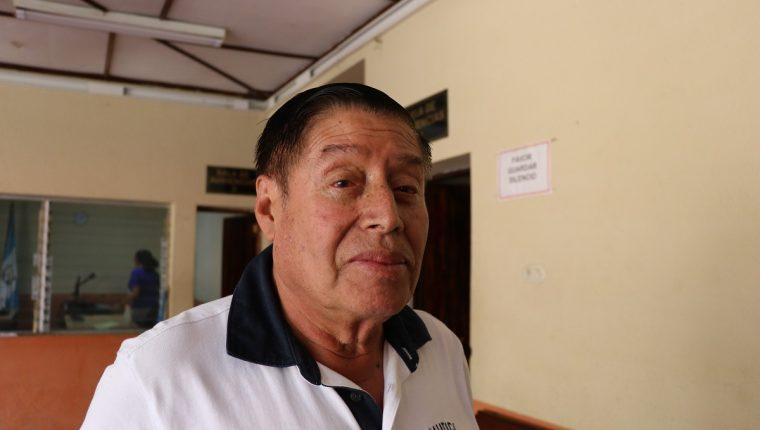 El exalcalde de Santiago Sacatepéquez, Manuel Augusto Navas Navas, fue condenado por peculado. (Foto Prensa Libre: Julio Sicán).