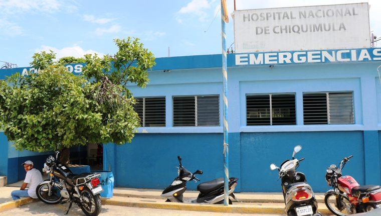 Hospital a donde fueron trasladados los dos menores localizados abandonados en Jocotán. (Foto Prensa Libre: Mario Morales).