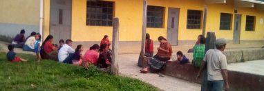 Escuela de Nueva Esperanza, Uspantán, Quiché, permanece cerrada. (Foto Prensa Libre: Héctor Cordero).