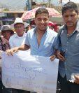 Vecinos de Coatepeque, Quetzaltenango, llegaron a Nahualá como muestra de solidaridad. (Foto Prensa Libre: María Longo)