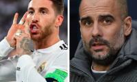 Sergio Ramos y Pep Guardiola son del interes de la Juventus de Turín. (Foto Prensa Libre: AFP)