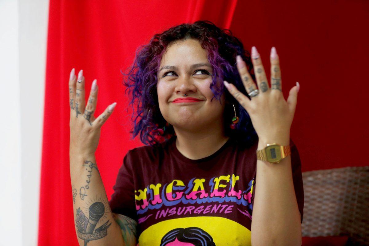 """Rebeca Lane: """"En Guatemala las mujeres no vivimos en libertad"""""""