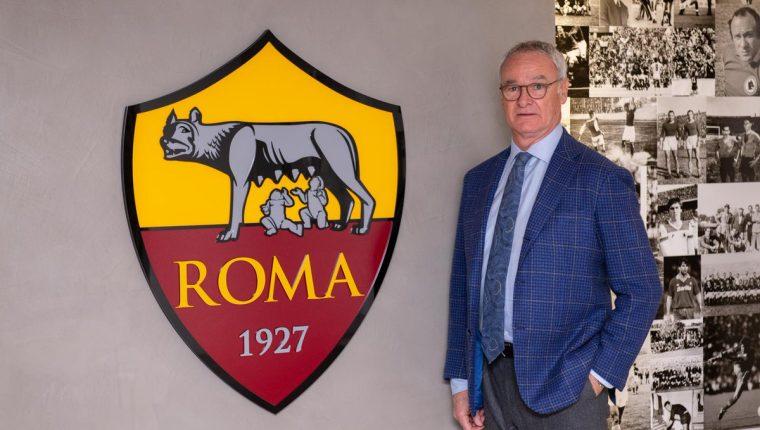 Claudio Ranieri es el nuevo entrenador de la Roma. (Foto Prensa Libre: AS Roma)
