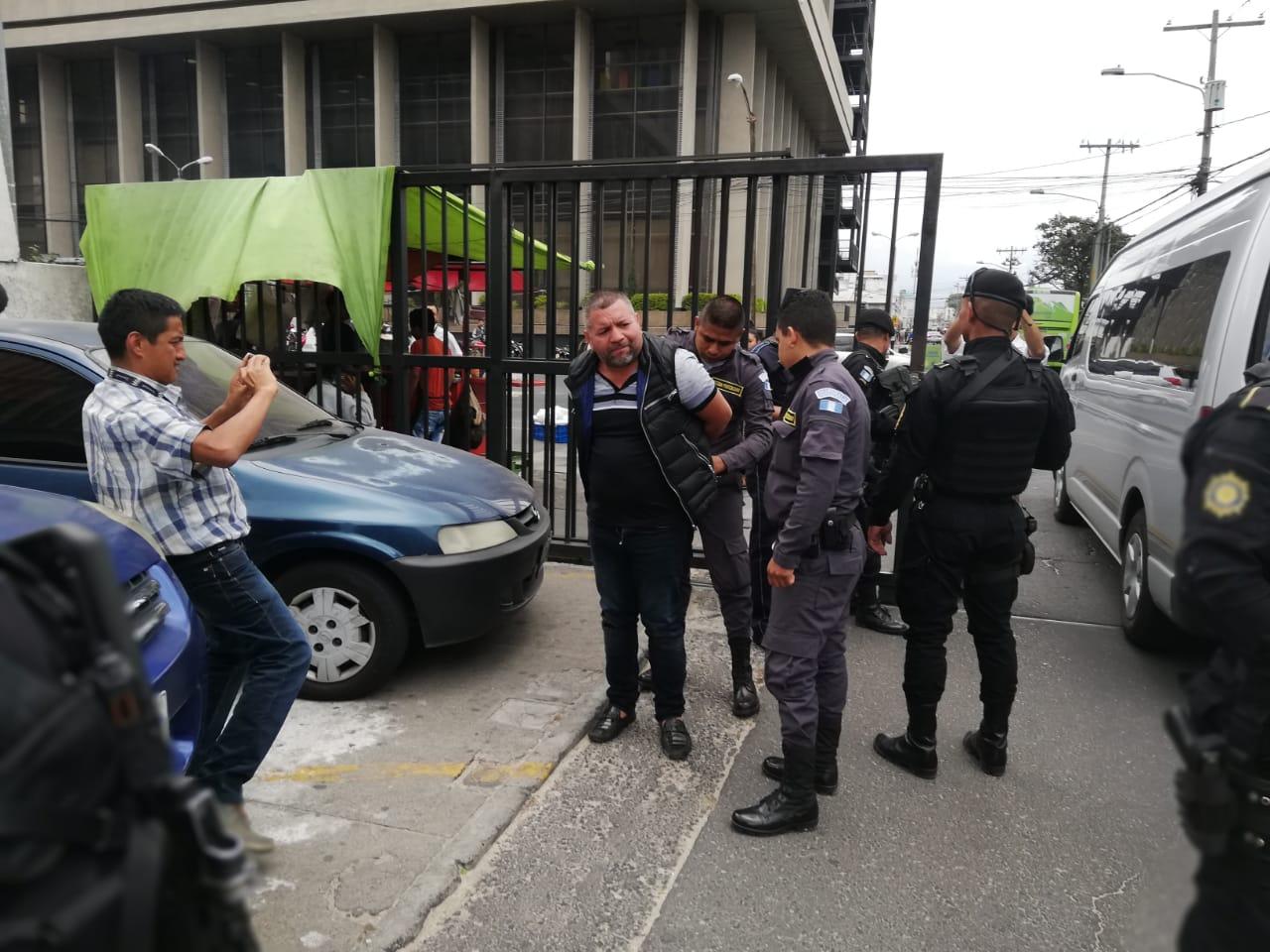 Rony Alexander Ortiz López, hermano del capo Juan Ortiz López, alias Juan Chamalé, acetó la extradición a Estados Unidos. (Foto Prensa Libre: Kenneth Monzón)