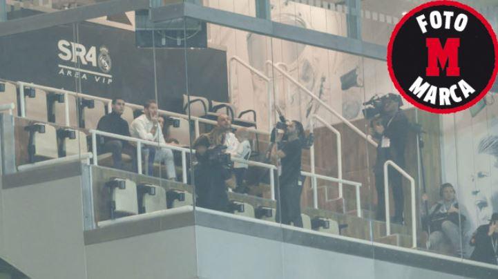 Sergio Ramos grabando parte de su documental. (Foto Prensa Libre: Marca)