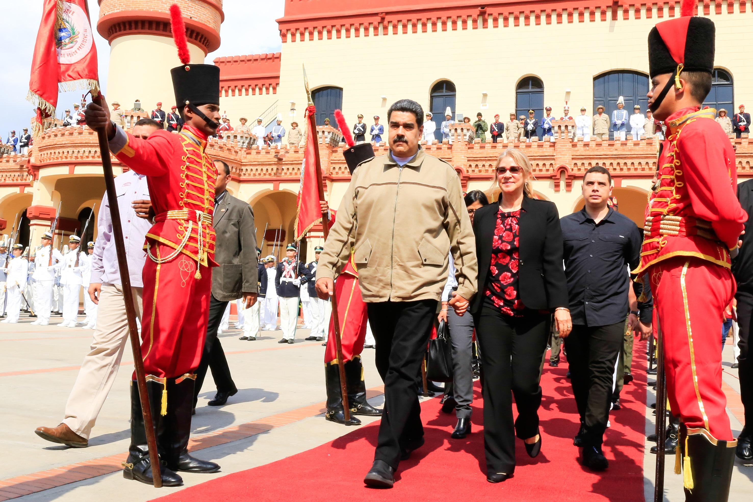El gobierno de Nicolás Maduro expulsó al embajador de Alemania, por apoyar a Guaidó. (Foto Prensa Libre: AFP)