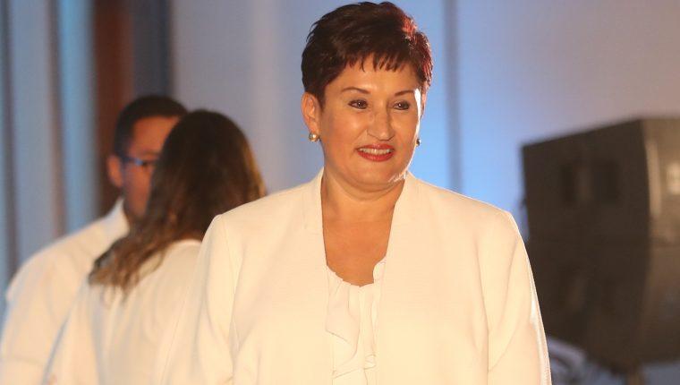 Thelma Aldana está en El Salvador y ha defendido su inscripción como candidata presidencial al conocerse que tiene orden de captura. (Foto Prensa Libre: Hemeroteca PL)
