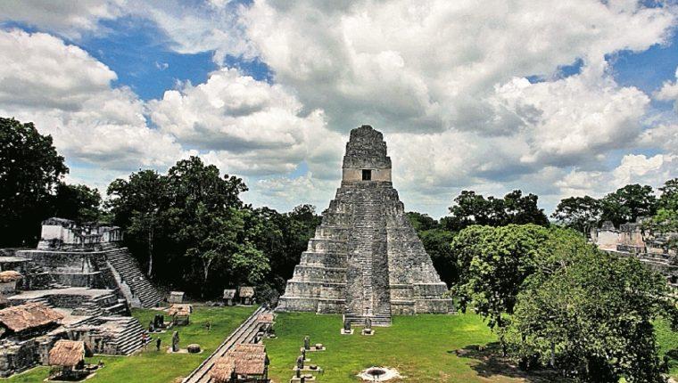 Petén, con varios de sus atractivos turísticos y culturales como El Parque Nacional Tikal, está en el top 9 de los destinos más visitados para Semana Santa. (Foto, Prensa Libre: Hemeroteca PL).