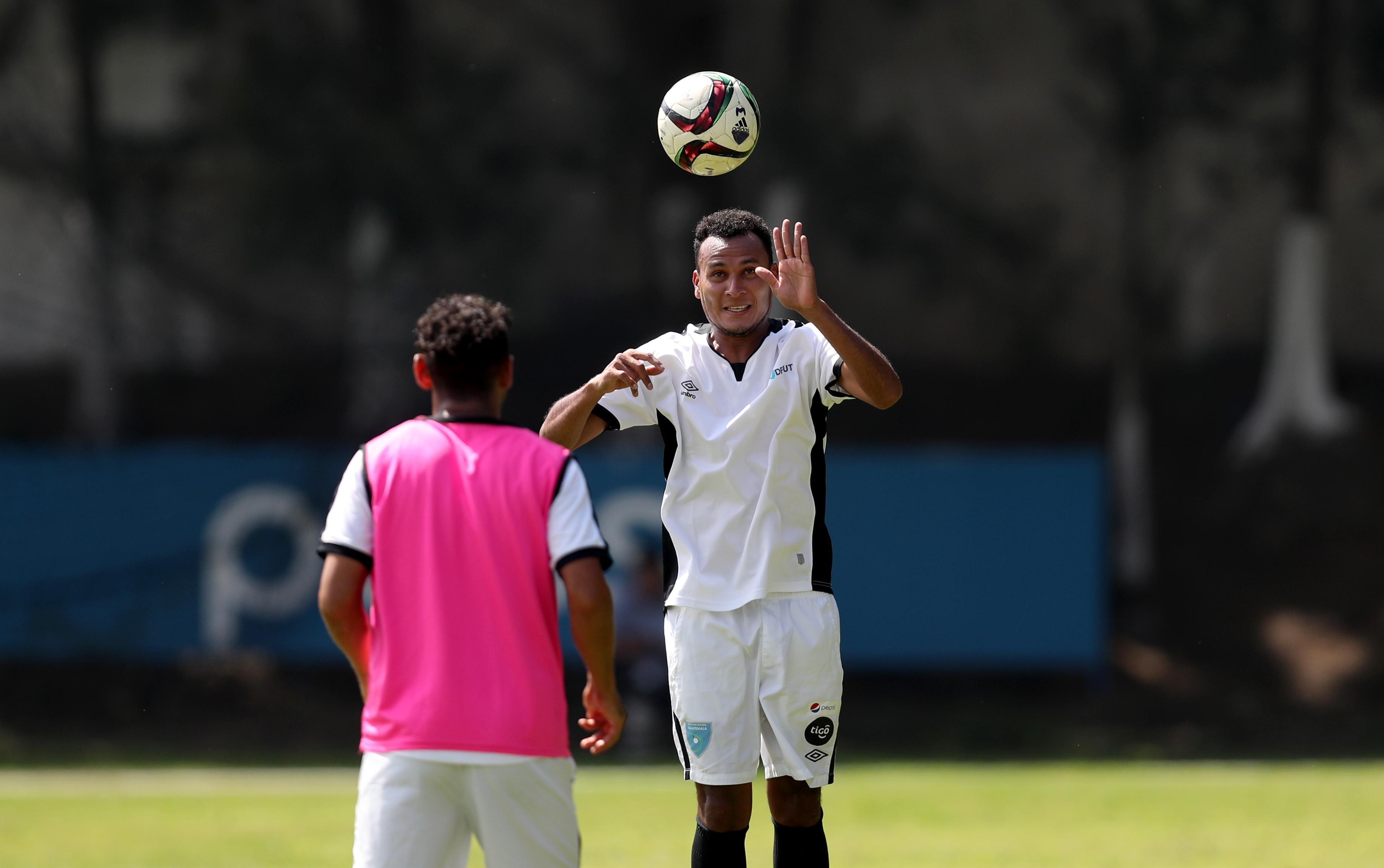 José Márquez vuelve a la Bicolor después de ausentarse cuatro compromisos. (Foto de Francisco Sánchez).