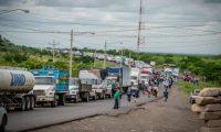 Transporte de carga en Nicaragua enfrenta varios obstáculos en ese país desde que surgió la crisis sociopolítica en abril del 2018. (Foto, Prensa Libre: Hemeroteca PL).