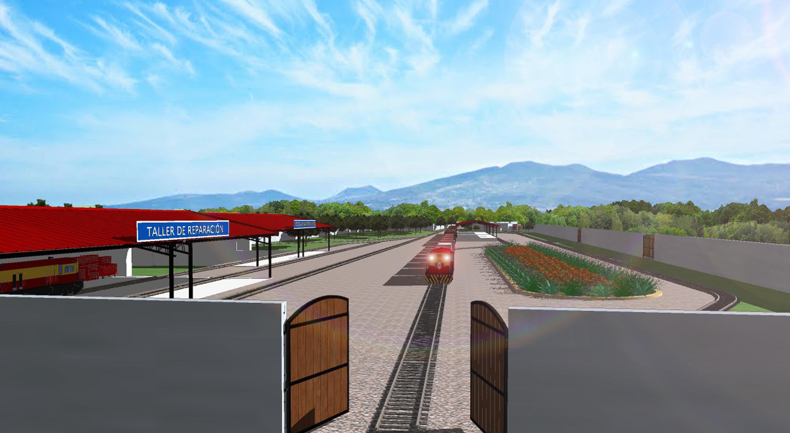 Este año podría entrar en operación el tren de México hacia Guatemala en un sistema multimodal, según informaron ayer las autoridades. (Foto Prensa Libre: Anadie)