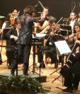 La sinfonía inconclusa, ahora con 4 movimientos y no con dos, se presentó en la Ciudad de México el 22 de marzo. (Foto Prensa Libre: Huawei)