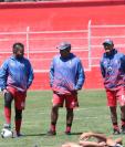Xelajú MC inaugura las acciones de este miércoles de visita contra Deportivo Siquinalá. (Foto Prensa Libre: Raúl Juárez)