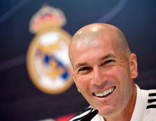El estratega francés Zinedine Zidane regresa al banquillo merengue (Foto Prensa Libre: AFP)