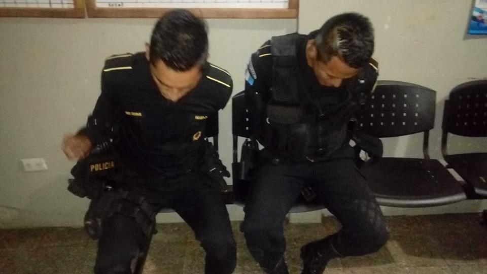 Policías fueron sorprendidos en estado de ebriedad en pleno turno