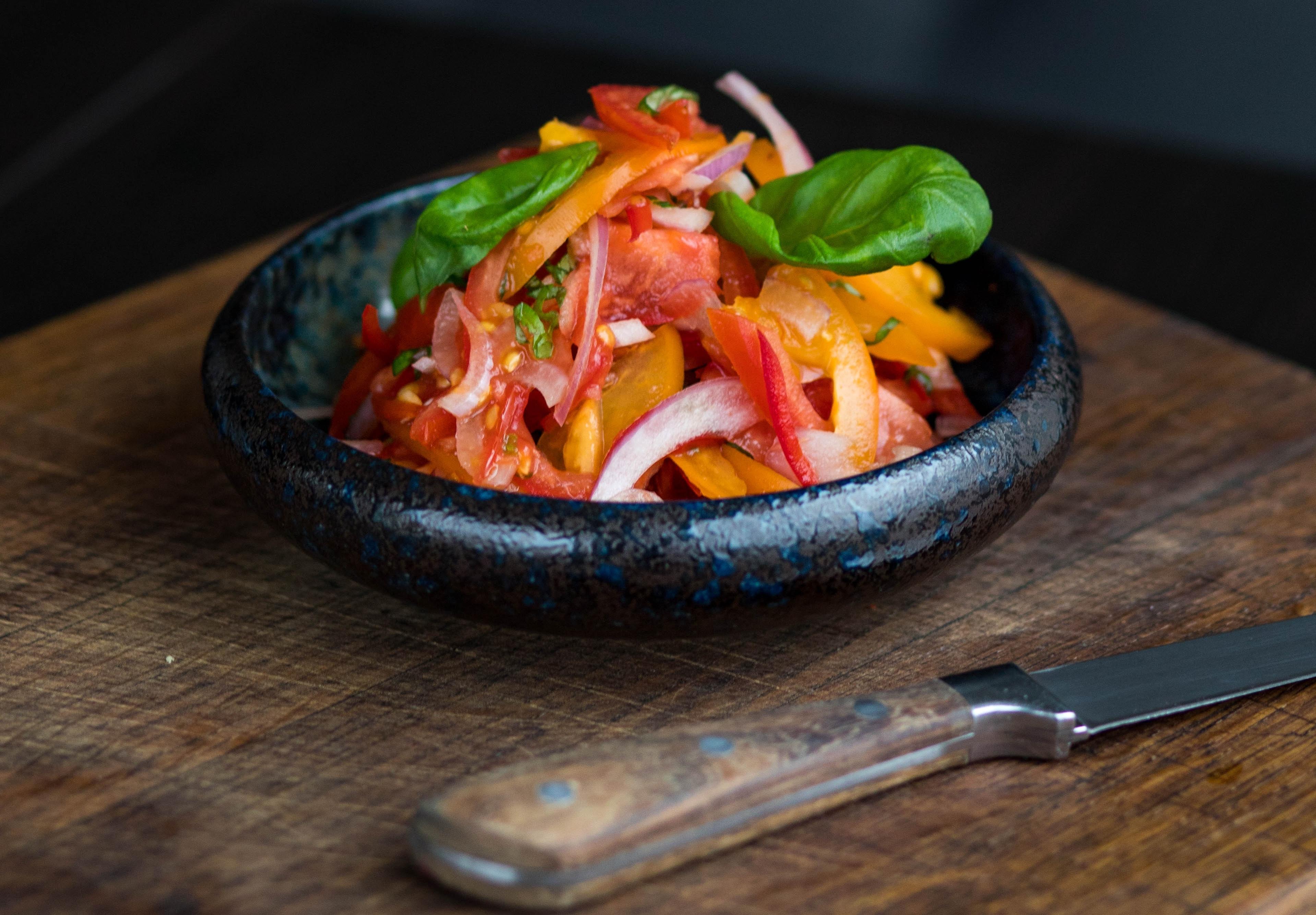 Las comidas con vegetales también benefician al planeta Tierra (Foto Prensa Libre: servicios / Pexels).