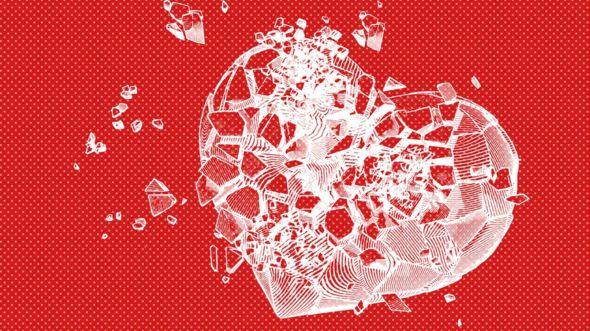 Los síntomas del corazón roto pueden ser muy similares a los de un infarto y aunque suelen ser temporales, a veces pueden causar la muerte. GETTY IMAGES