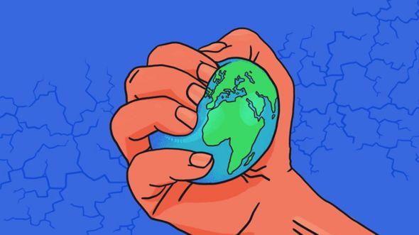 """""""Un número significativo de personas están estresadas por los impactos potenciales del cambio climático"""", aseguró la profesora de psicología estadounidense Susan Clayton. BBC THREE"""