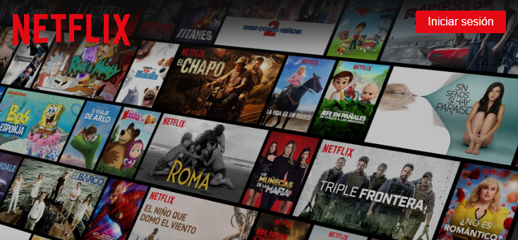 Netflix modificó su servicio en varios países de Latinoamérica (Foto Prensa Libre: Netflix.com).