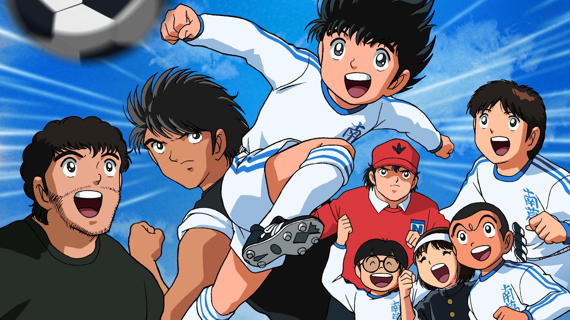 Netflix presentará capítulos de Los Super Campeones (Foto Prensa Libre: Captain Tsubasa).