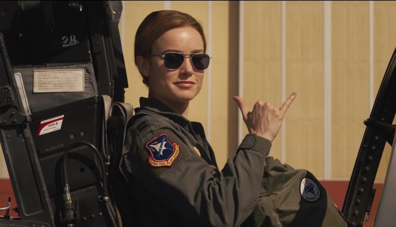 Capitana Marvel es la primera cinta del UCM que se centra en un personaje femenino y la crítica la ha recibido bien. (Foto Prensa Libre: YouTube)