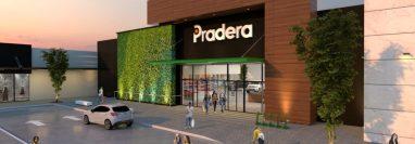 Así se verá el centro comercial Pradera Zacapa. (Foto Prensa Libre: Cortesía)