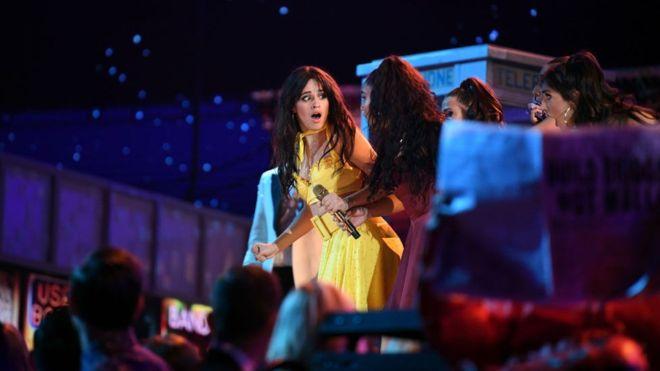 """Nadie está más sorprendido por el éxito de """"Havana"""" que la misma Camila Cabello (GETTY IMAGES)"""