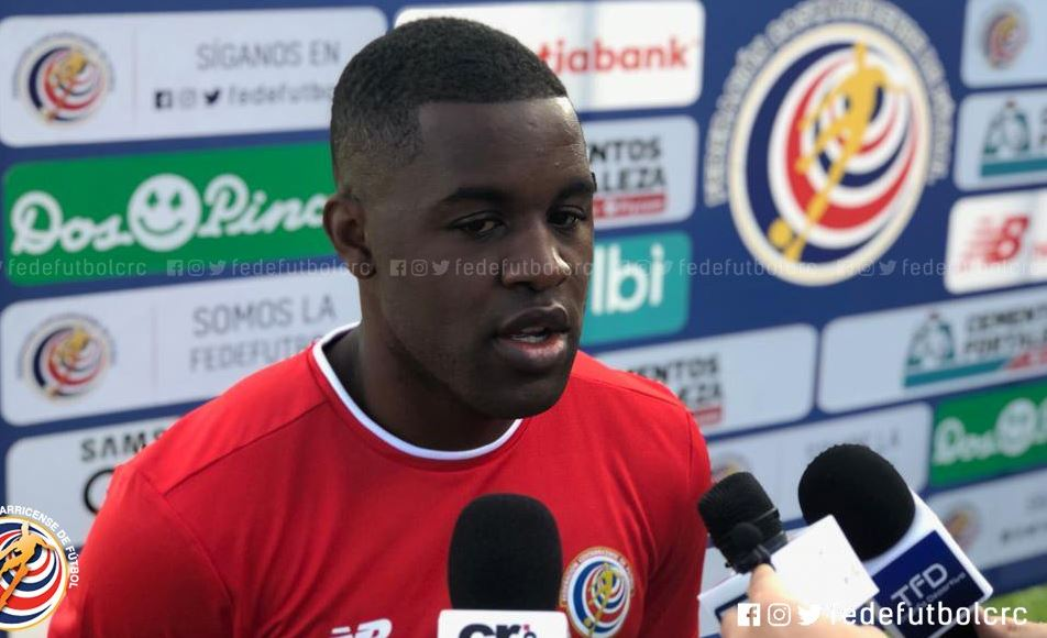 Joel Campbell habló del respeto a los rivales sin importar quién sea. (Foto Federación de Costa Rica).