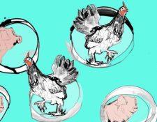 La carne producida en laboratorio es uno de los retos de los científicos hoy en día.