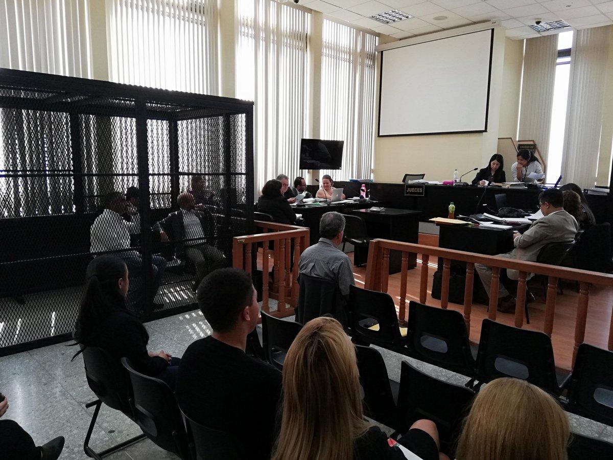 El caso Odebrecht se conoció en el Juzgado de Mayor Riesgo D, a cargo de Erika Aifán. (Foto Prensa Libre: Carlos Hernández)