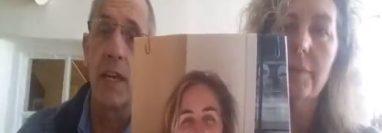 Padres británicos emiten mensaje por las redes para encontrar a su hija  desaparecida en Guatemala.