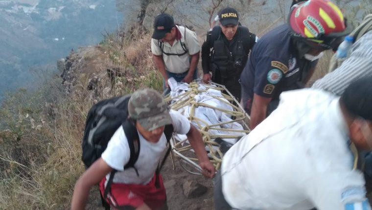 El cuerpo de la británica Catherine Shaw, que falleció el 5 de marzo, fue encontrado sin vida días después. (Foto Prensa Libre: Hemeroteca PL)