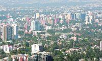 Vista panorámica de la ciudad de Guatemala, vista desde un edificio de la Zona 15, Vista Hermosa,  En la imagen se ven edificios de la Zonas 1, 10, 14 y 15. Foto Daniel Herrera, Prensa Libre.
