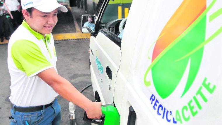 El proyecto para recolectar aceite vegetal desechable en los mercados comenzó en el 2015.(Foto Prensa Libre: Hemeroteca PL)