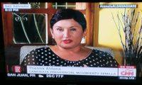 Thelma Aldana, candidata presidencial, habla a CNN en Español.