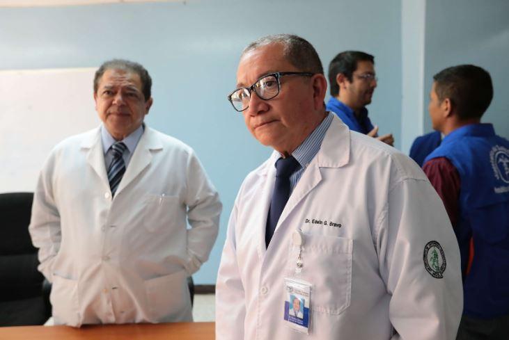 Edwin Bravo ocupó la dirección del hospital desde febrero de 2018. (Foto Prensa Libre: Hemeroteca PL)