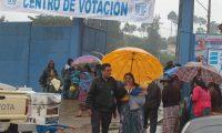 Organizaciones exhortan al diálogo para evitar conflictividad. Elecciones de primera vuelta en Guatemala 2015. (Foto Prensa Libre: Hemeroteca PL)