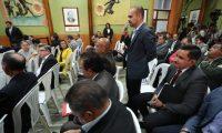 Reuni—n de fiscales de Partidos Pol'ticos con Magistrados del Tribunal Supremo Electoral (TSE) .                                                                                             Fotograf'a Esbin Garcia 28-02- 2019.