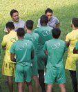 Amarini Villatoro dirigirá a la Selección de Guatemala de manera interina. (Foto Prensa Libre: Hemeroteca PL)