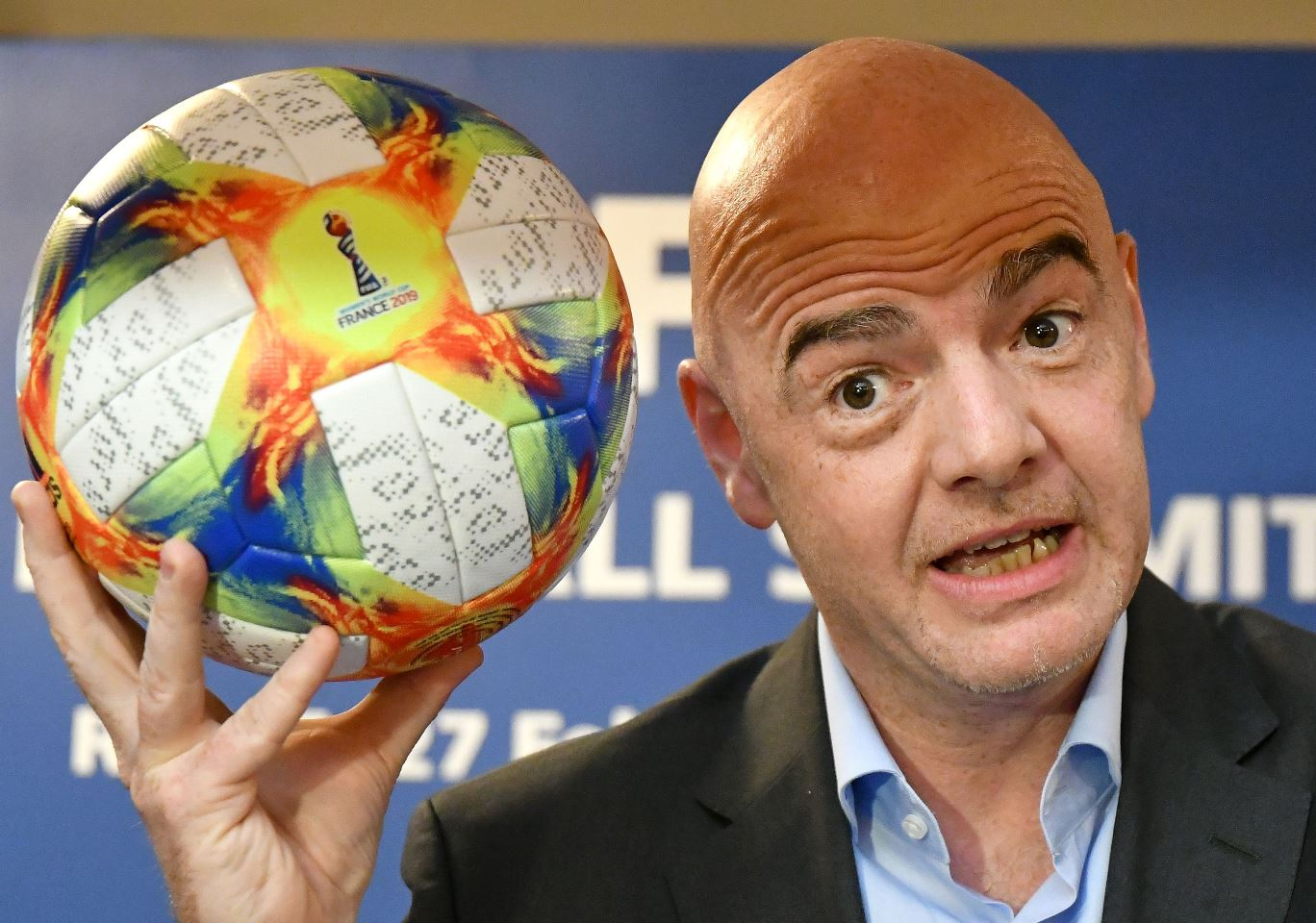 El presidente de la Fifa, Gianni Infantino, busca mantener viva la propuesta de incrementar el número de selecciones en una Copa del Mundo. (Foto Cortesía).